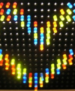 Giant Lite Brite heart